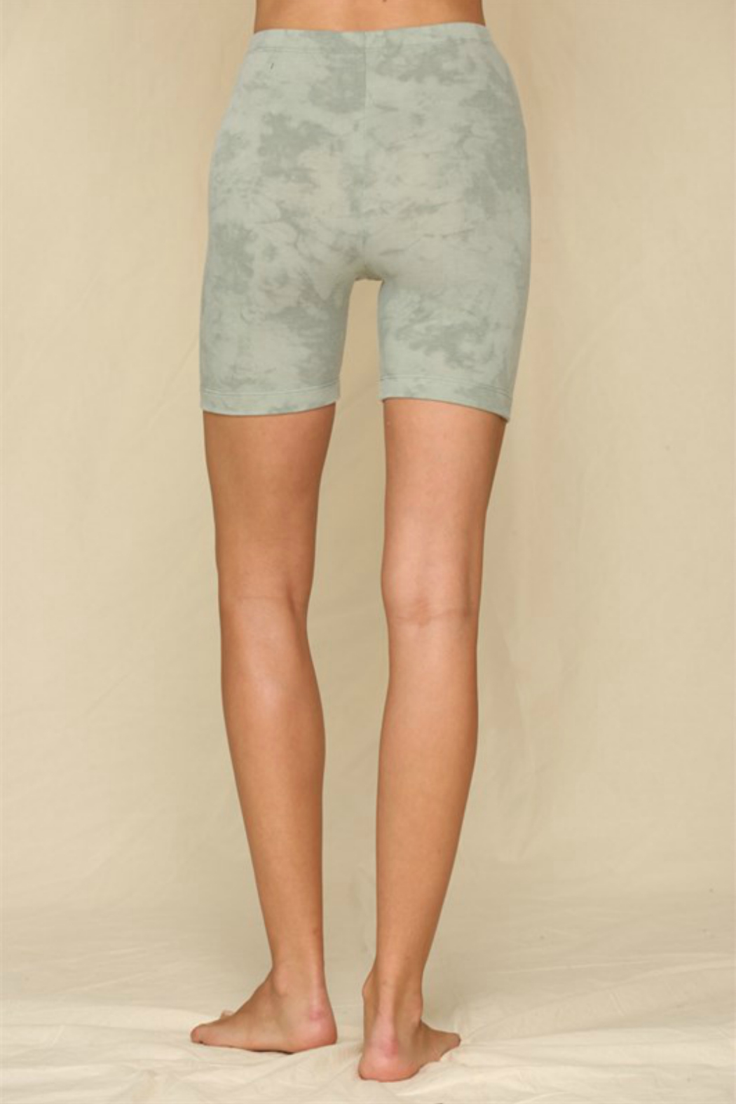 By Together  Tie Dye Shorts - Front Full Image