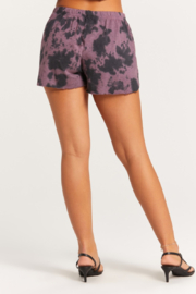 Olivaceous  Tie Dye Shorts - Front full body