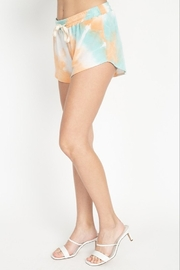 Fore Collection Tie Dye Shorts - Side cropped