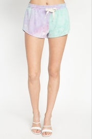 Fore Collection Tie Dye Shorts - Front cropped