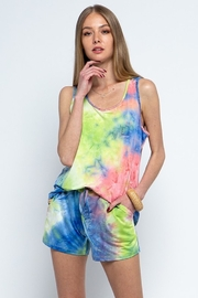 Blue B Tie Dye Sleeveless Lounge Set - Product Mini Image