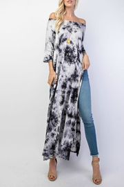 RAE MODE Tie-Dye Slit Tunic - Front cropped