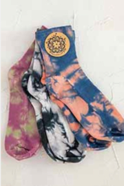 Natural Life Tie Dye Sock Set - Product Mini Image