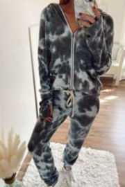 Six Fifty  Tie Dye Soft Jogger Pants - Product Mini Image