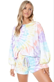 AAAAA Fashion Tie Dye Spiral Sweatshirt - Product Mini Image
