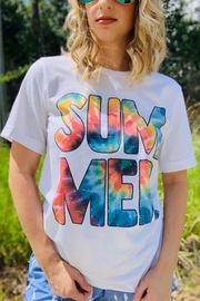 kissed Apparel Tie Dye Summer Tee - Front cropped