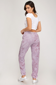 She & Sky  Tie Dye Sweatpant - Product Mini Image