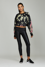 Noli Yoga Tie Dye Sweatshirt - Back cropped