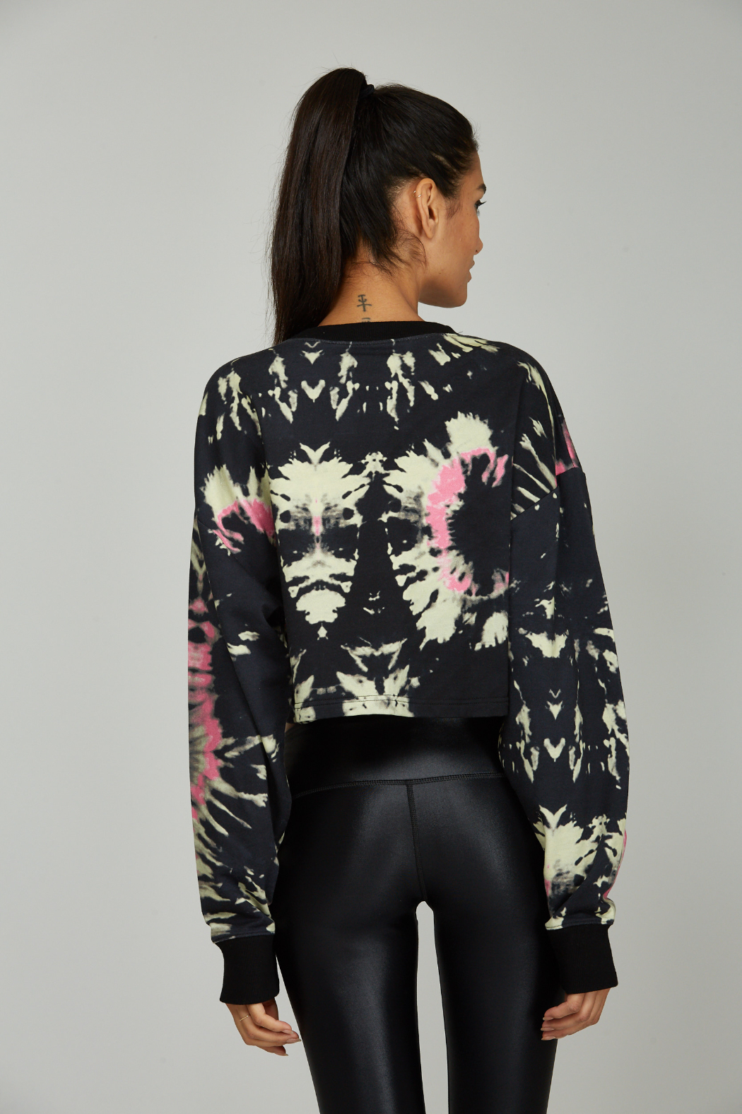 Noli Yoga Tie Dye Sweatshirt - Side Cropped Image
