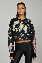 Noli Yoga Tie Dye Sweatshirt - Product Mini Image