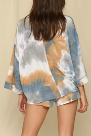 By Together  Tie Dye Sweatshirt - Front full body