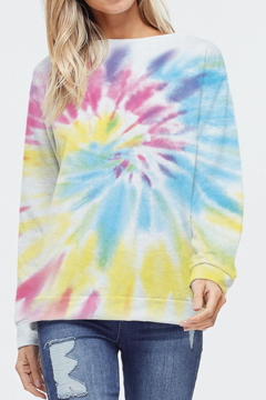 Phil Love Tie Dye Sweatshirt - Product List Image