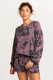 Olivaceous  Tie Dye Sweatshirt - Product Mini Image