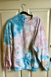 Bedford Basket Tie Dye Sweatshirts - Front full body