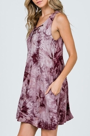 CY Fashion Tie-Dye Swing Dress - Front full body