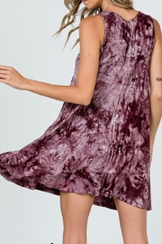 CY Fashion Tie-Dye Swing Dress - Side cropped