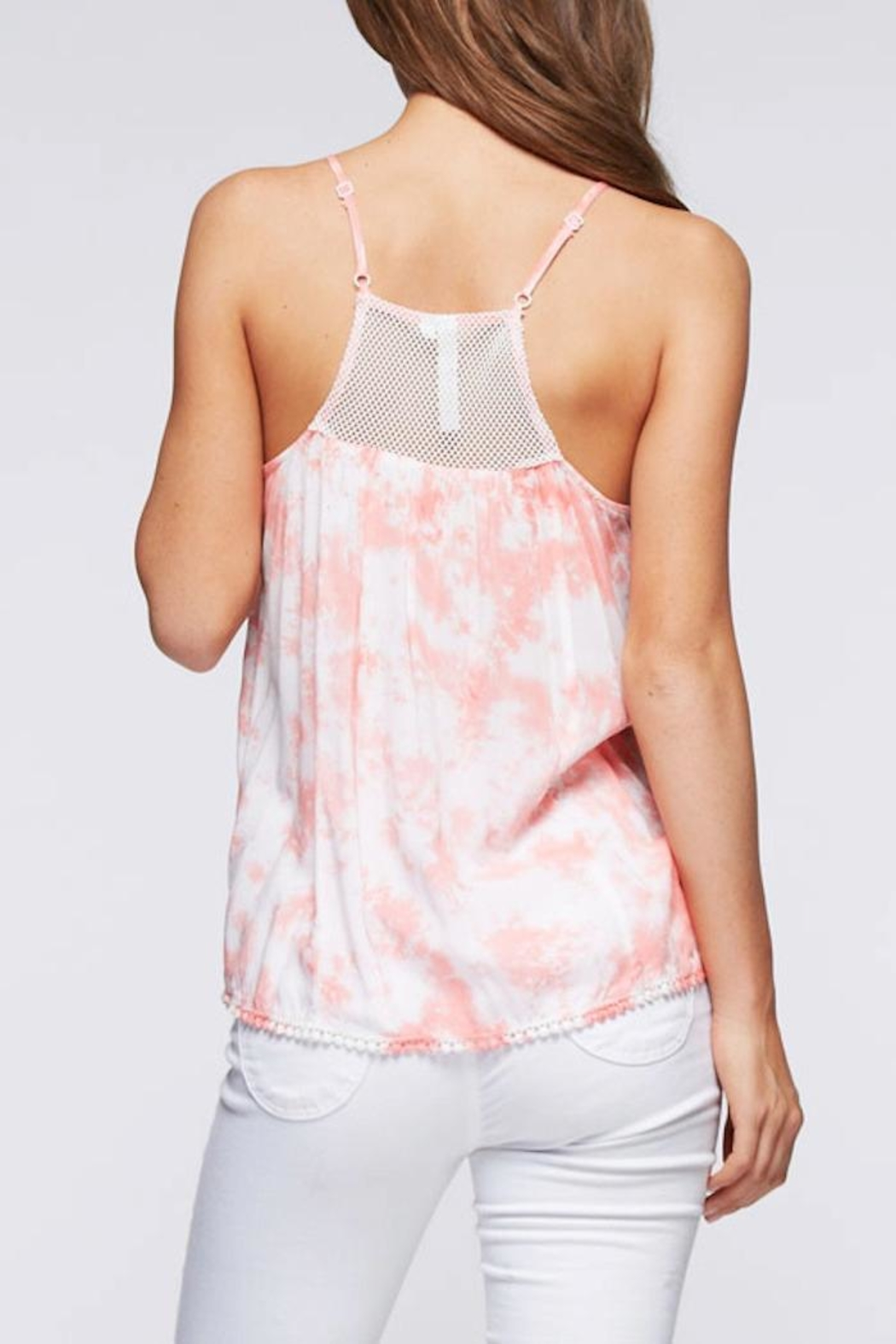 Andree Tie Dye Tank - Front Full Image