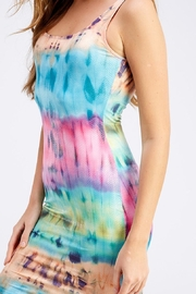 Hot & Delicious Tie-Dye Tank Dress - Back cropped