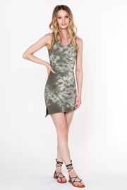 Bobi Los Angeles Tie Dye Tank Dress - Product Mini Image