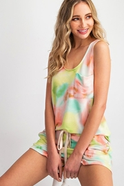 143 Story Tie Dye Tank Top with Chest Pocket - Product Mini Image