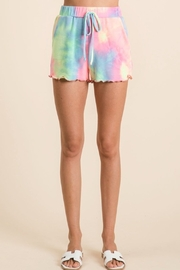 Bibi Tie Dye Terry Shorts - Product Mini Image