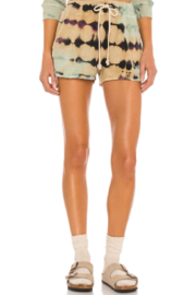 Daydreamer  Tie Dye Thermal Short - Front cropped