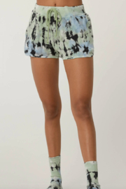 Daydreamer  Tie Dye Thermal Shorts - Product Mini Image