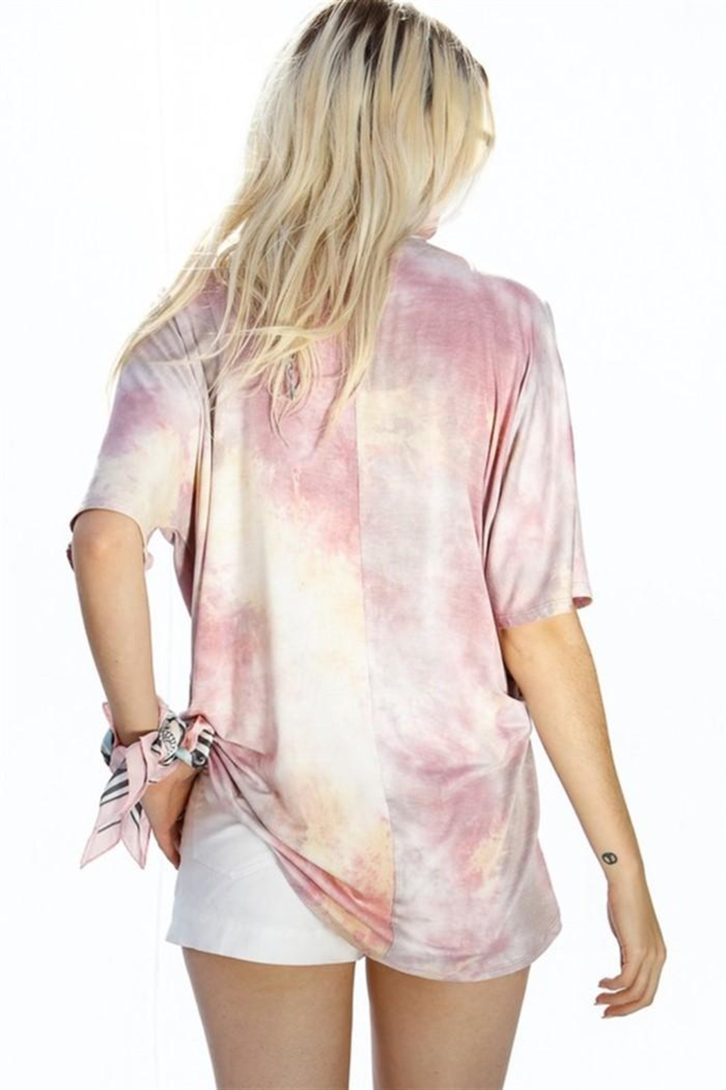 My Story Tie Dye Top - Front Full Image