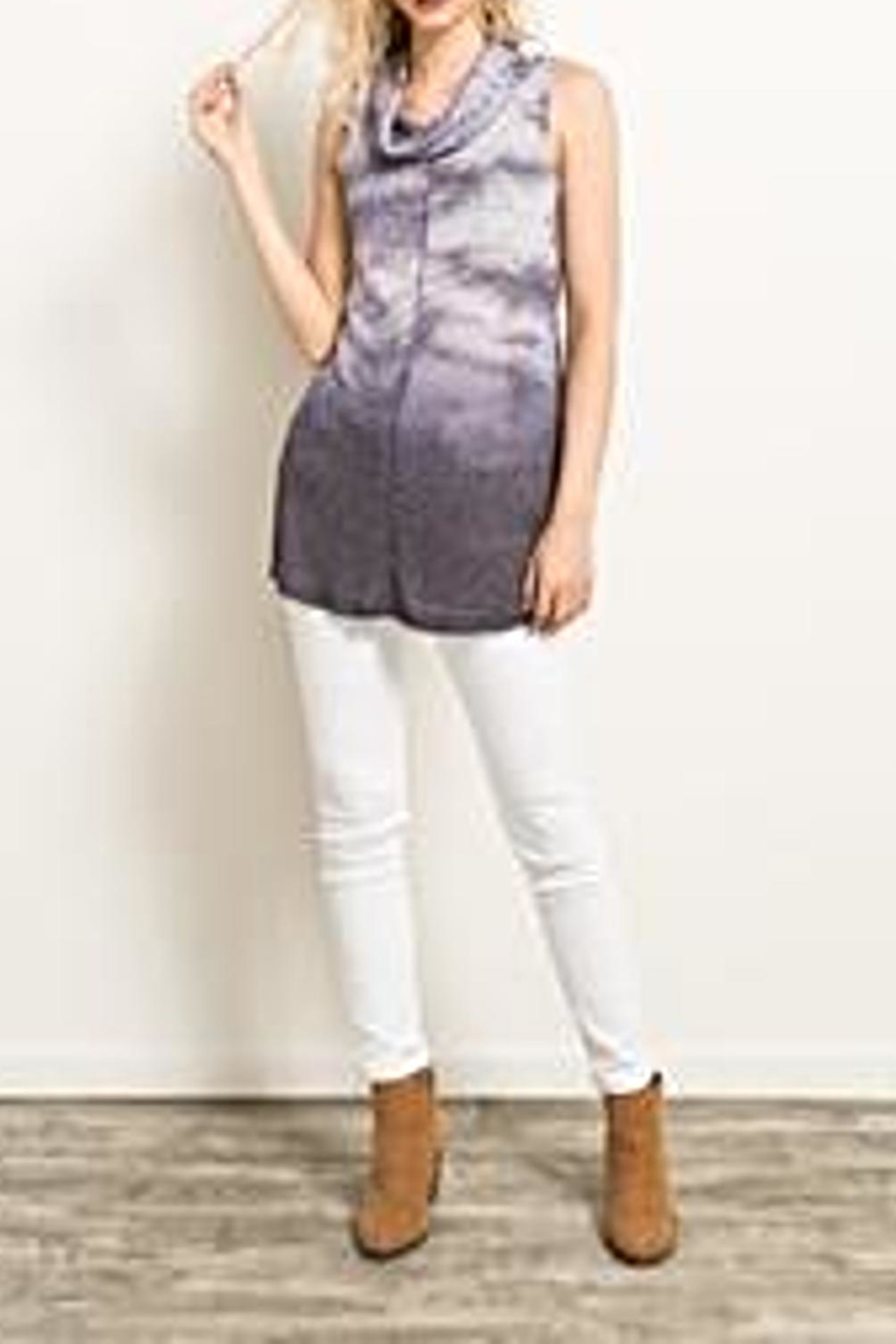 Hem & Thread Tie Dye Top - Side Cropped Image