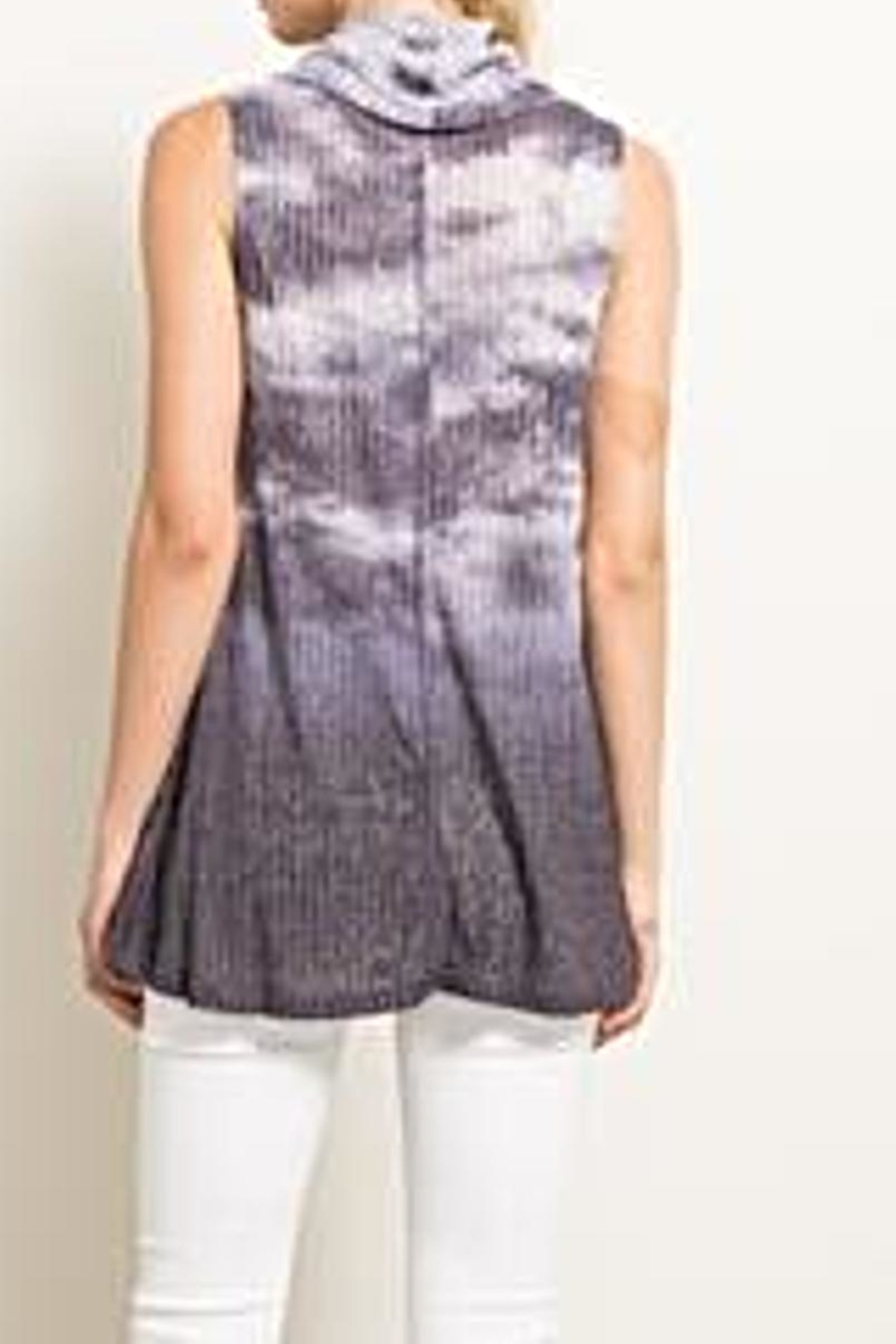 Hem & Thread Tie Dye Top - Front Full Image