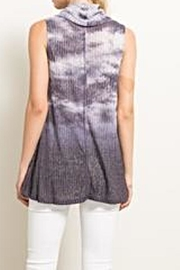 Hem & Thread Tie Dye Top - Front full body