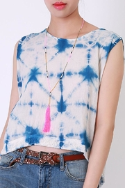 NU New York Tie Dye Top - Product Mini Image