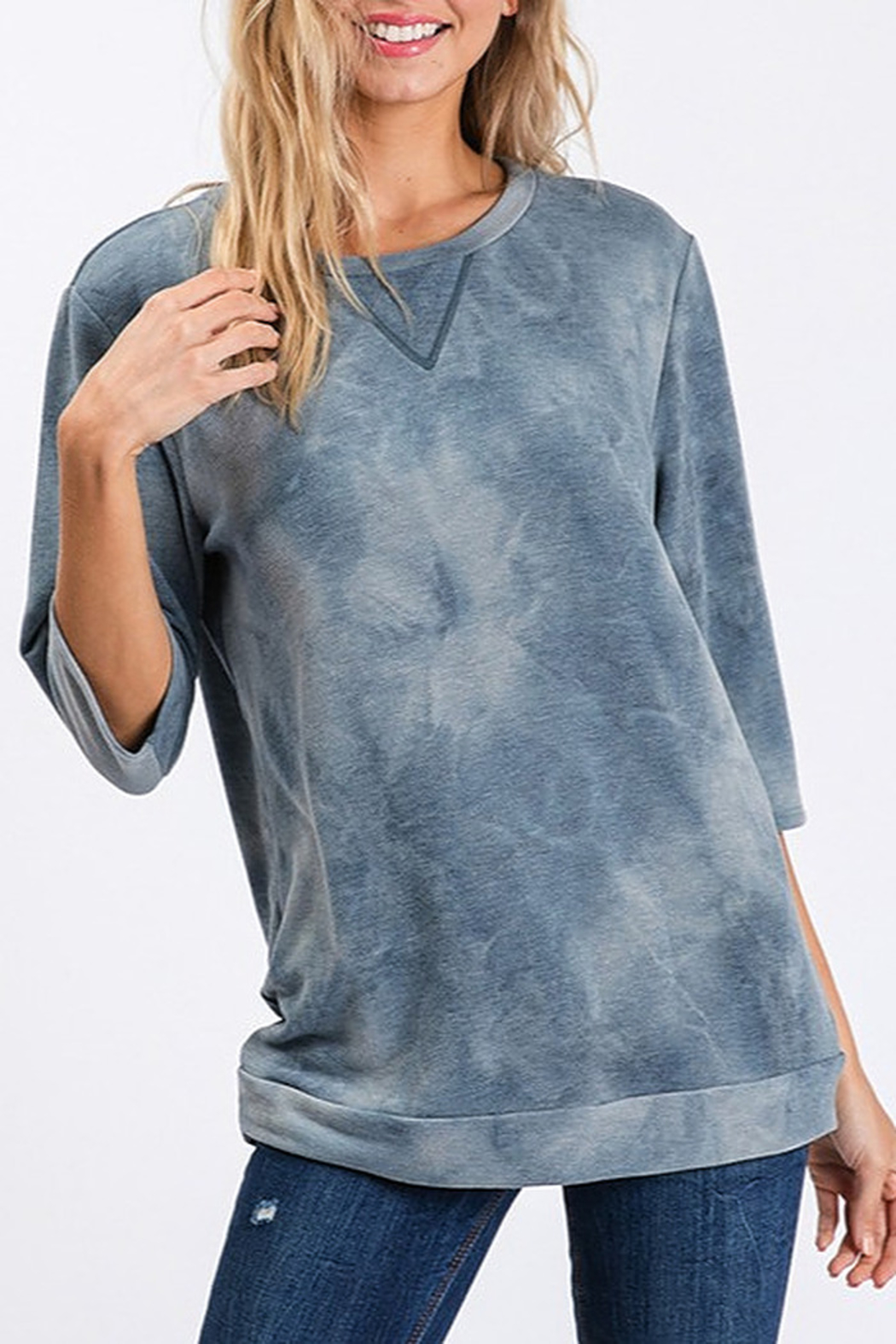 CY Fashion Tie Dye Top - Main Image