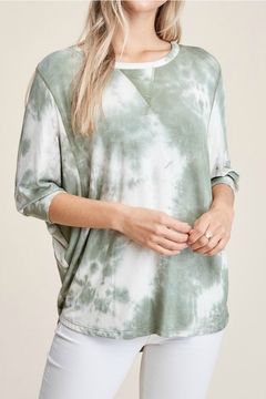 Staccato Tie Dye Top - Product List Image