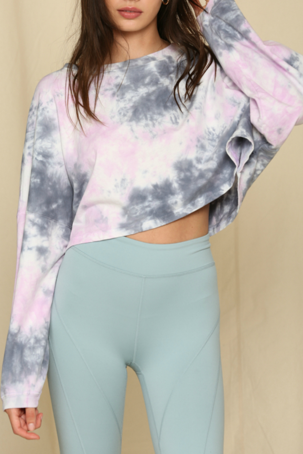 By Together  Tie Dye Top - Main Image