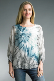 Tempo Paris  TIE DYE TOP - Product Mini Image