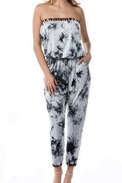 Vava by Joy Hahn Tie Dye Tube Top Jumpsuit - Alternate List Image
