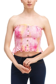 Cotton Candy Tie-Dye Tube Top - Product Mini Image
