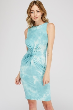 Dress Code Tie-Dye Twist Dress - Product List Image