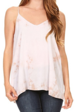 T Party Tie Dyed Cut-Out Back Top - Product List Image