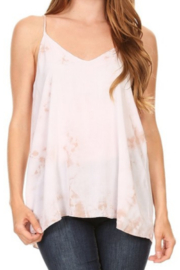 T Party Tie Dyed Cut-Out Back Top - Product Mini Image