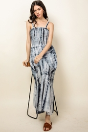 Thml TIE-DYED MAXI DRESS - Back cropped