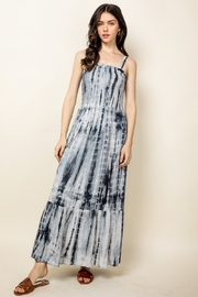 Thml TIE-DYED MAXI DRESS - Front cropped