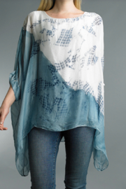 Tempo Paris  TIE DYED PONCHO - Product Mini Image