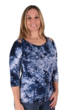 True Blue  Tie-Dyed Tunic - Product List Image
