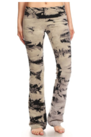 T Party Tie Dyed Wide Leg Yoga Pants - Product Mini Image