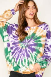Fantastic Fawn  Tie Dying Mardi Gras - Product Mini Image