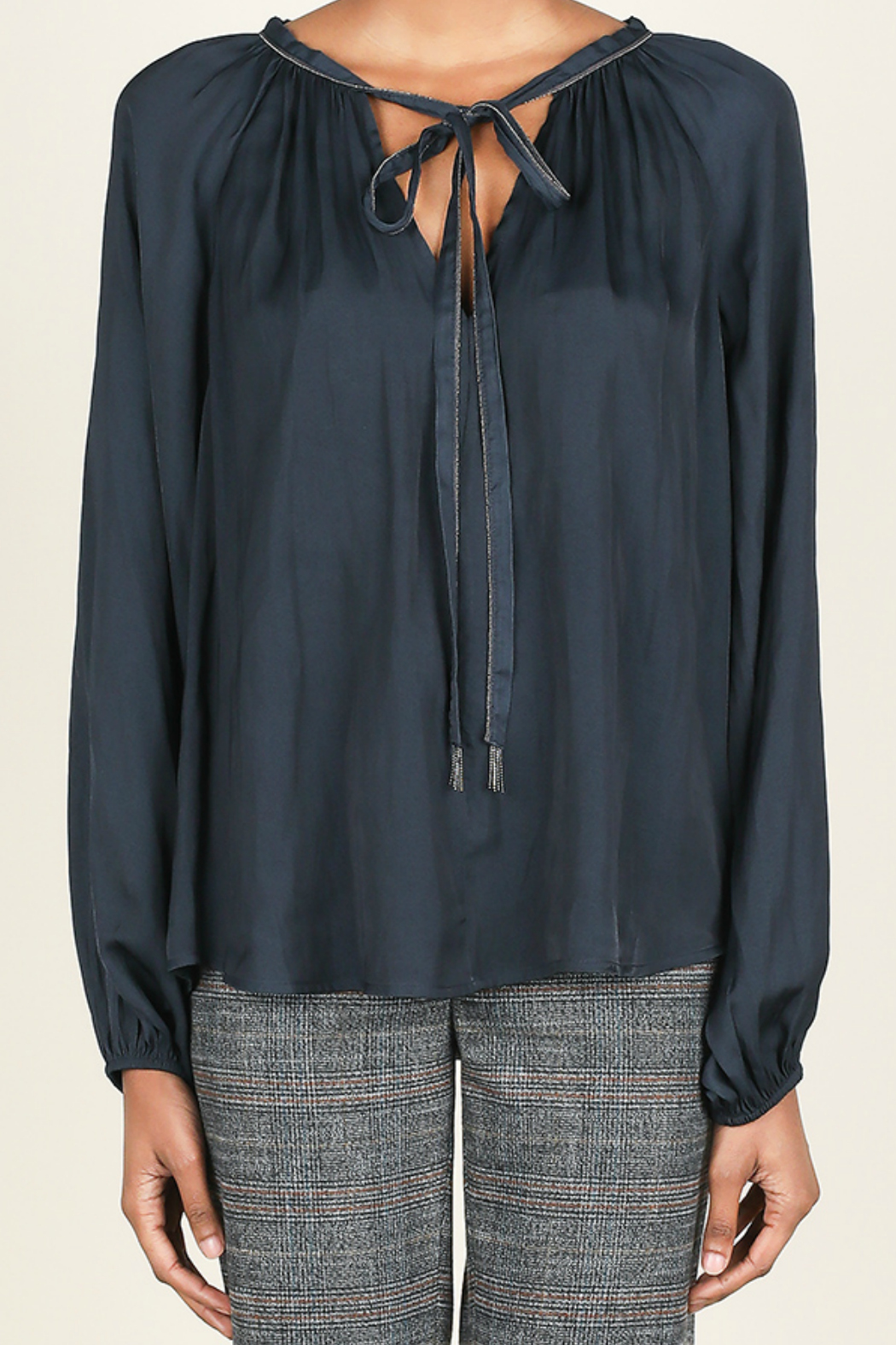 Current Air Tie front blouse - Main Image