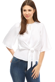 Alythea Tie Front Blouse - Product Mini Image