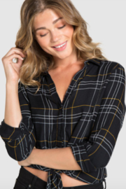 Bella Dahl Tie Front Button Down - Product Mini Image